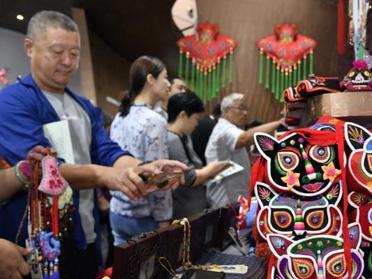 8th Shandong International Cultural Industries Fair kicks off in Jinan