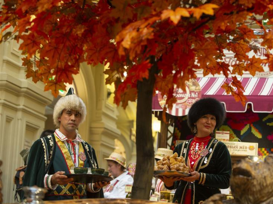 Local Food Festival held in Moscow, Russia