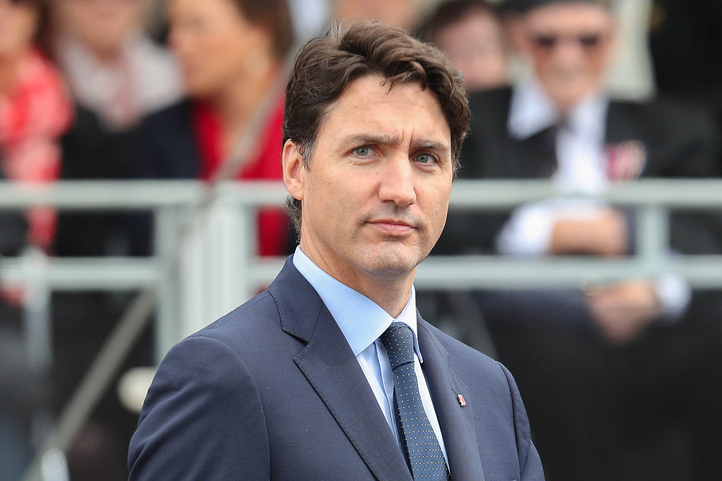 Canada's Trudeau comes under fire over brownface photo