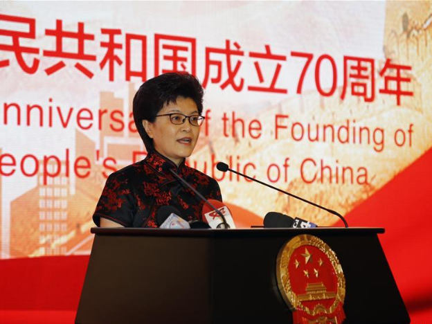 China's National Day reception held at Chinese Embassy in Romania in Bucharest