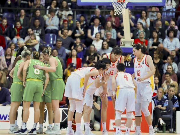 Highlights of friendly women basketball match between China, Australia