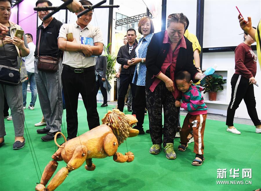 BRI countries' cultural products dress up Shandong International Cultural Intudstries Fair