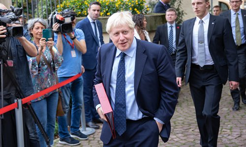 UK's Johnson caught lying to father of sick child