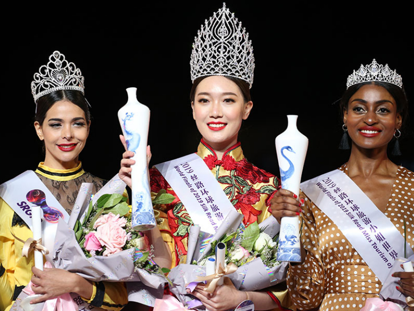 Chinese contestant wins Miss Tourism of the Globe competition