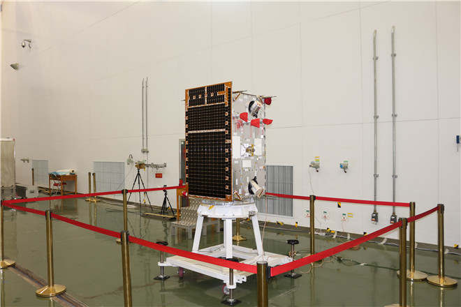 Chinese satellite tests space-based gravitational wave detection technologies