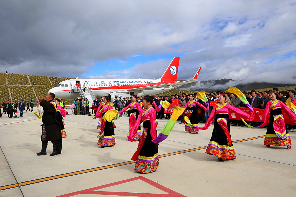 High altitude airport opens in SW China
