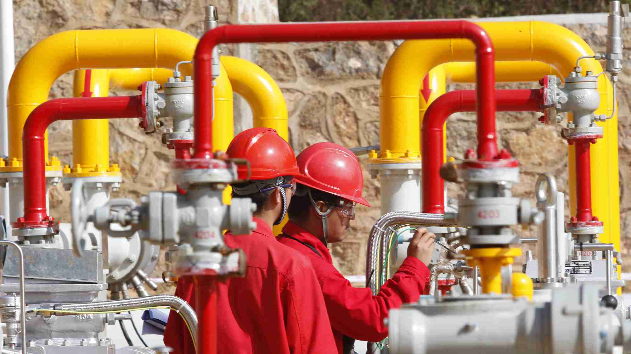 China sees stable growth in natural gas production