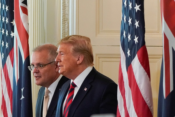 Trump touts 'restraint' on Iran as sign of strength amid tension