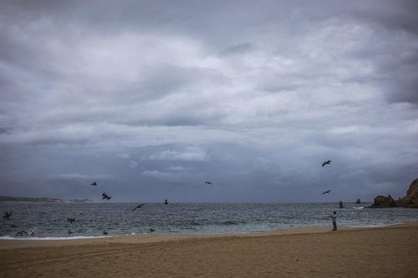 Hurricane Lorena skirts east coast of Mexico's Baja