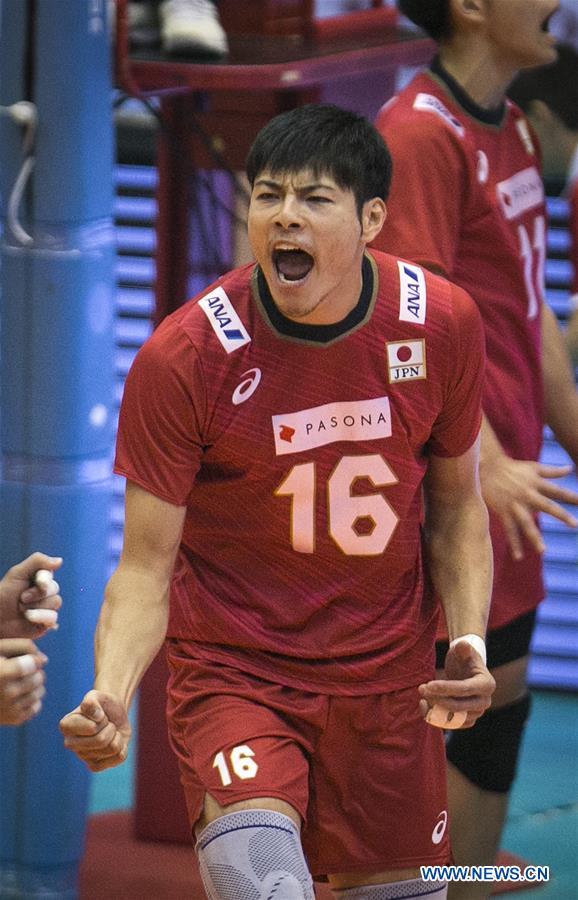 Asian Men's Volleyball Championship semifinal match: Japan vs. Australia