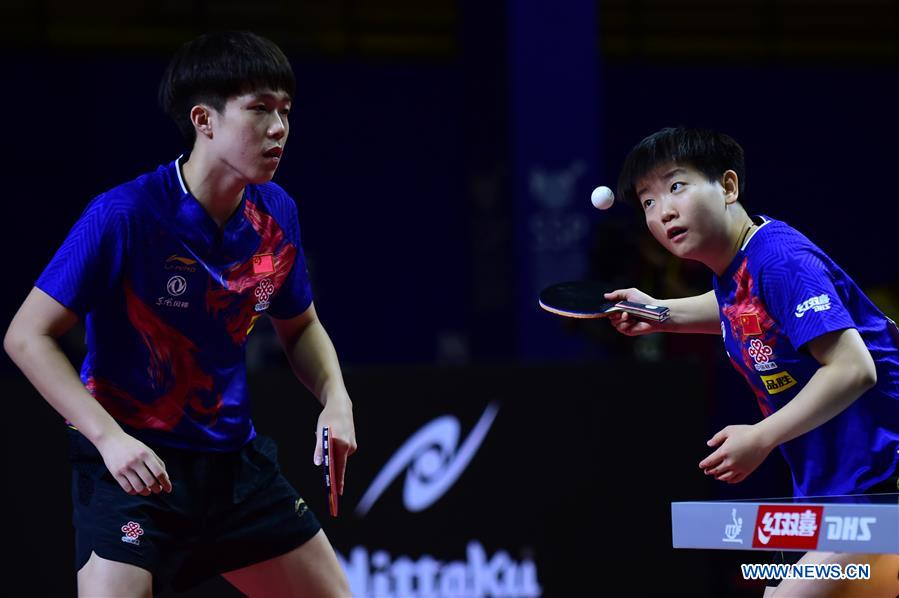 China claims mixed doubles title at Asian Table Tennis Championship