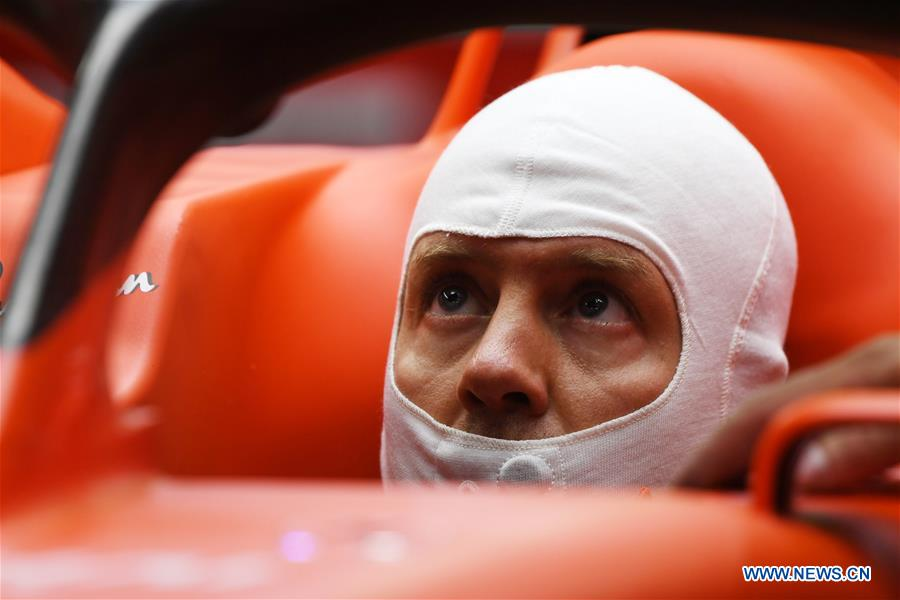 In pics: 2nd practice session of Formula One Singapore Grand Prix