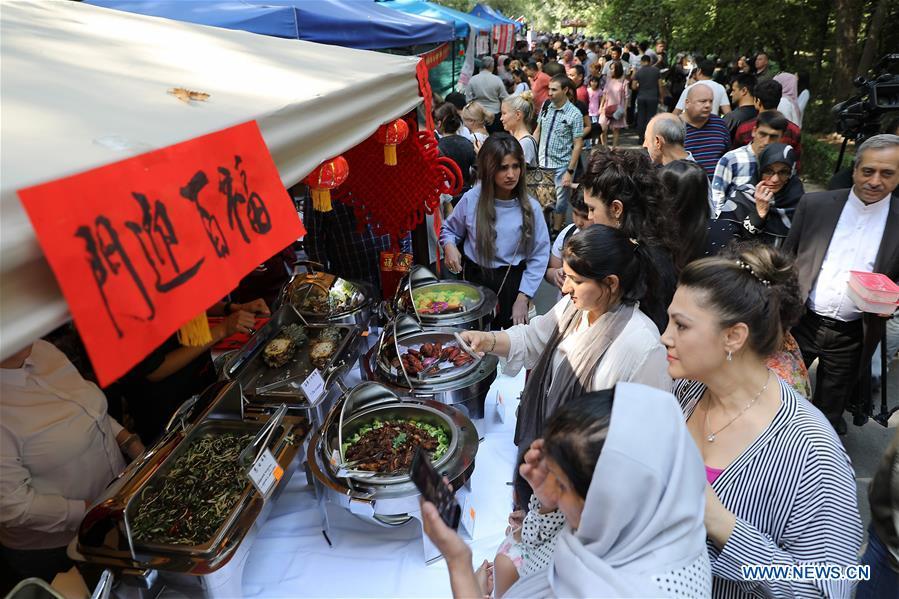 Event held to show foreign cultures, foods in Tashkent, Uzbekistan