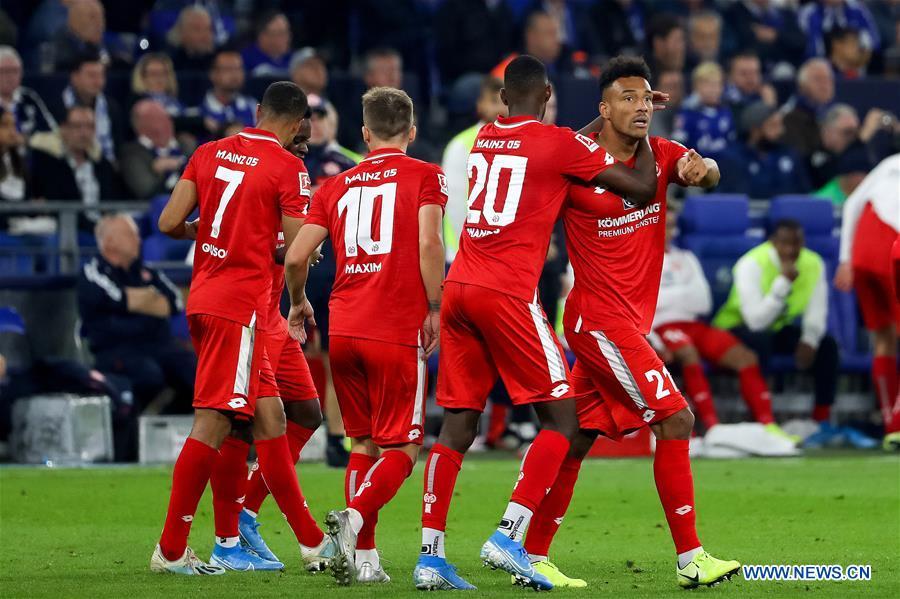 Bundesliga soccer match between FC Schalke 04 and FSV Mainz 05