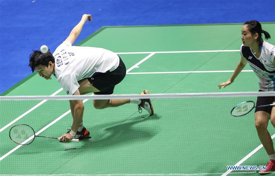 Highlights of badminton China Open semifinals