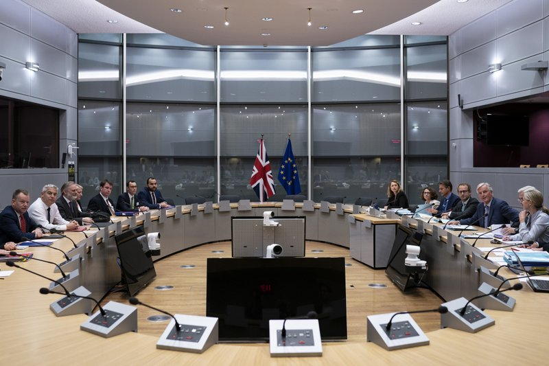 At least they're talking: EU, UK push on with Brexit meets