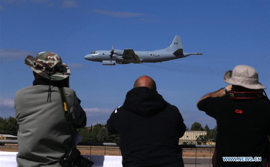 Greece's largest air show kicks off at Tanagra Air Base