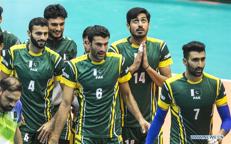 Asian Men's Volleyball Championship final 7th-8th match: India vs. Pakistan