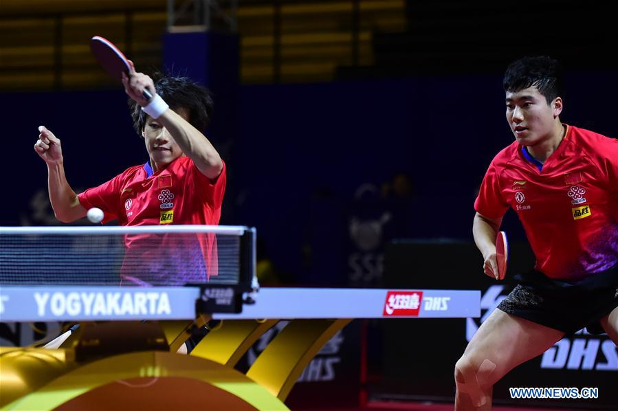 Highlights of Asian Table Tennis Championship men's doubles final