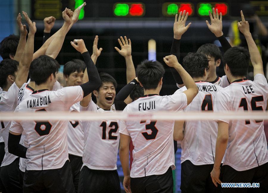 Asian Men's Volleyball Championship 3rd place final: Japan vs. South Korea