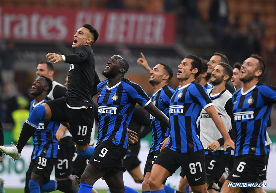Highlights of Serie A match between AC Milan, Inter Milan