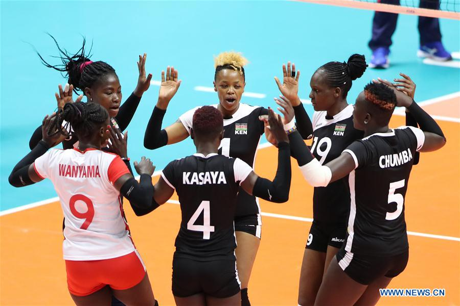 Dominican Republic defeats Kenya 3-0 during round robin match at FIVB Volleyball Women's World Cup