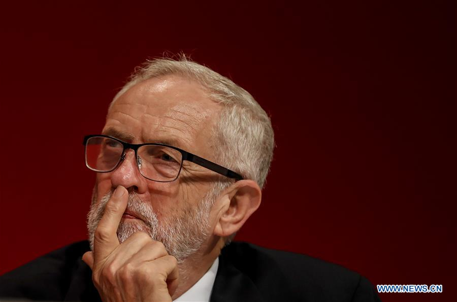 British Labour Party holds annual conference in Brighton