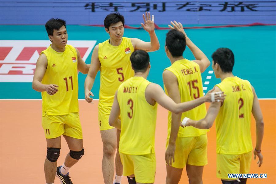Asian Men's Volleyball Championship final 5th-6th match: China vs. Chinese Taipei