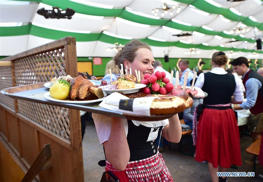 186th Oktoberfest opens in Munich