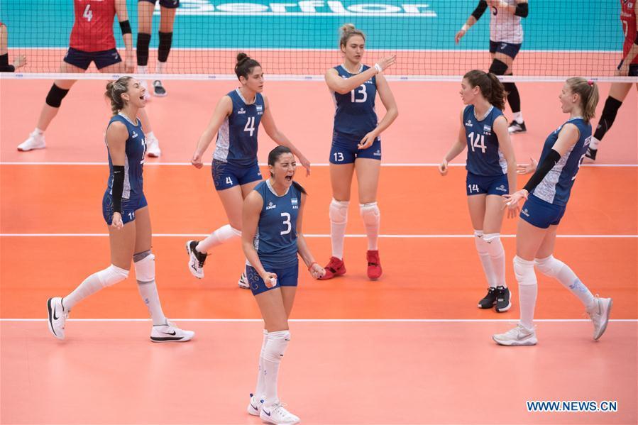 South Korea beats Argentina 3-1 at FIVB Women's World Cup
