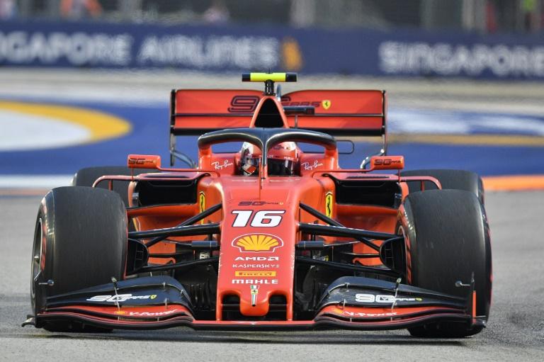 Brilliant Leclerc dominates final Singapore practice