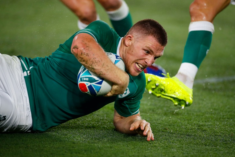 Ireland overpower Scotland in emphatic Rugby World Cup win