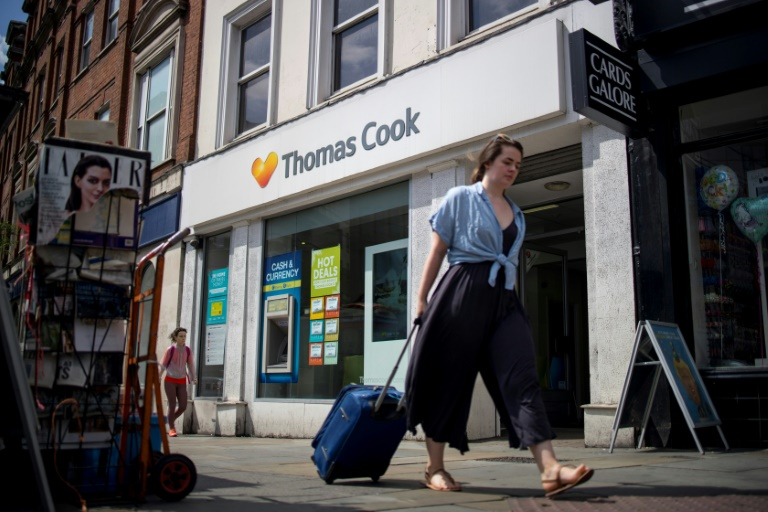 UK travel giant Thomas Cook faces collapse