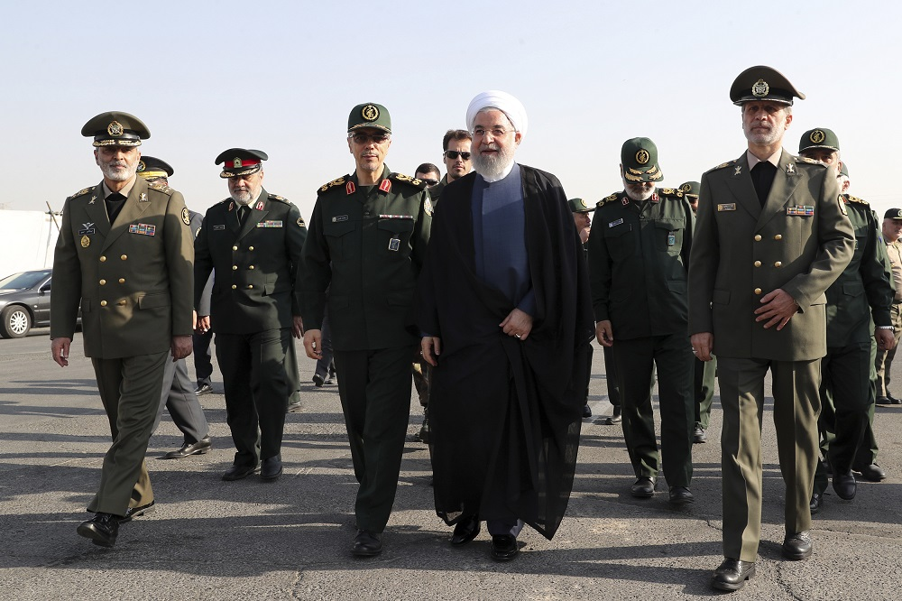 Iran vows to lead Gulf security as tensions rise