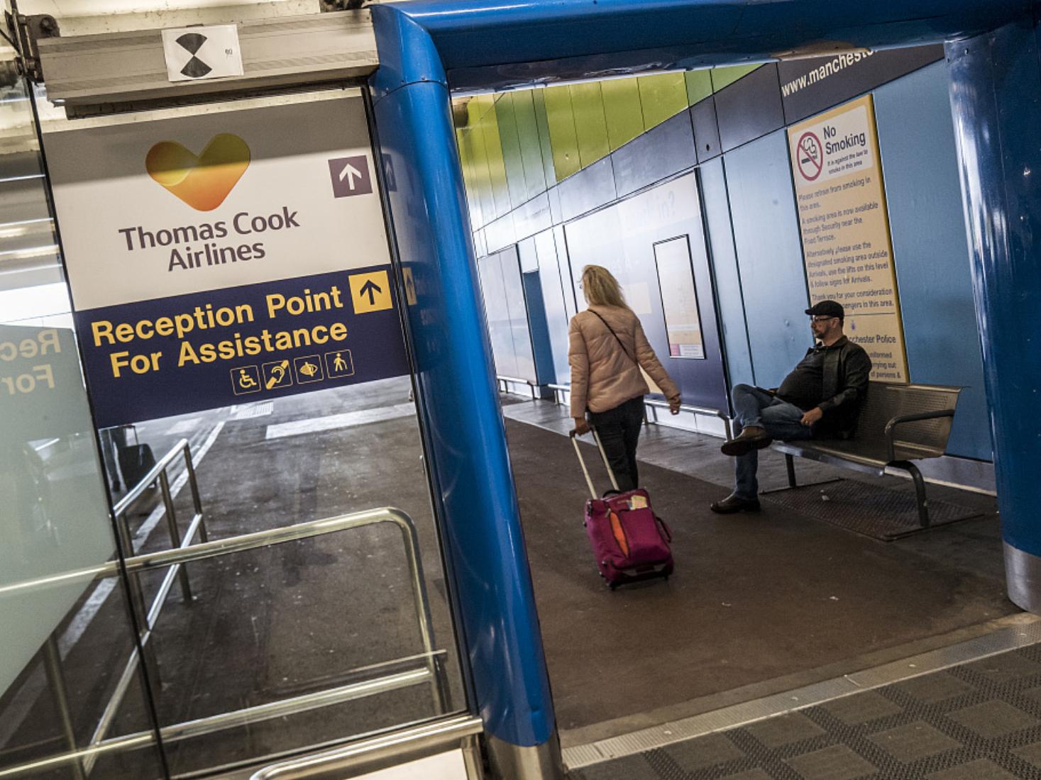 UK travel giant Thomas Cook collapses, stranding tourists