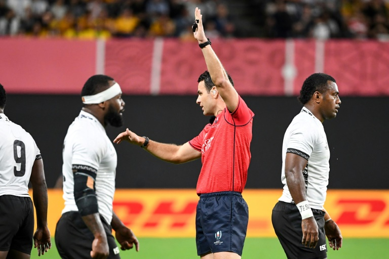Rugby World Cup referees under fire on opening weekend