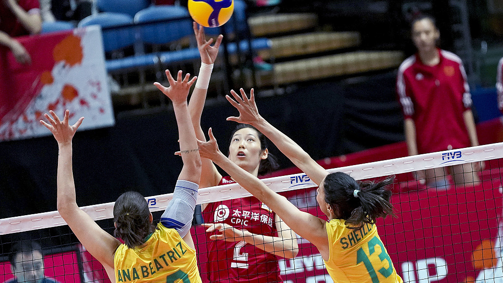 China claim 6th win in FIVB Women's Volleyball World Cup