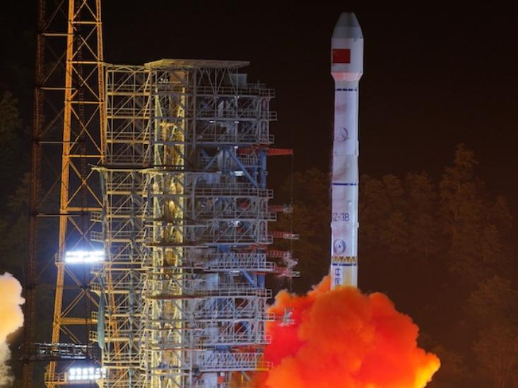 China launches new BeiDou satellites