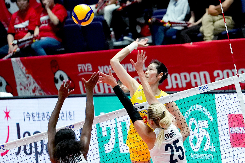 China beat USA 3-0 for 7th straight win at FIVB Volleyball Women's World Cup