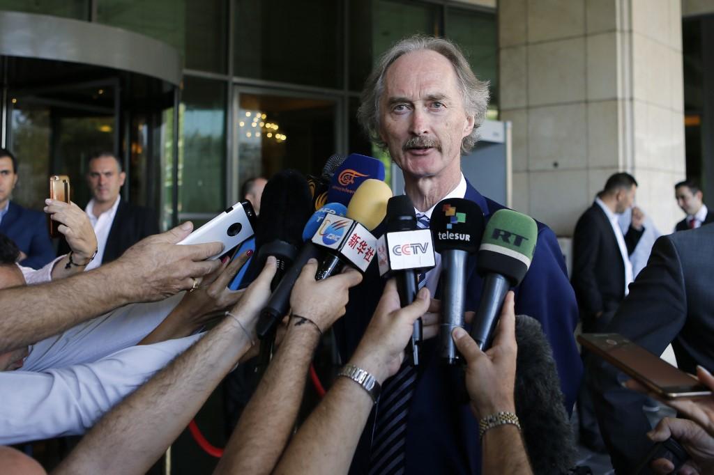 "UN envoy concludes ""successful talks"" with Syrian FM"