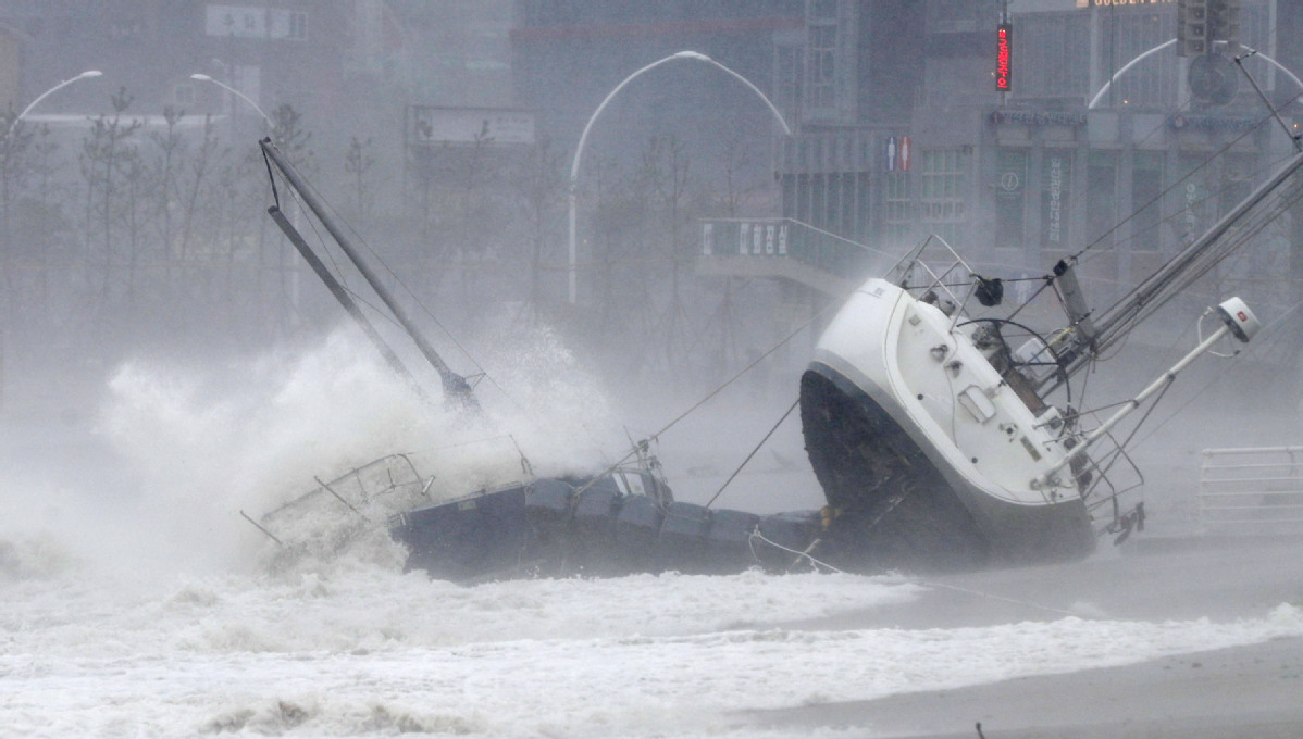 Typhoon heads to northeast Japan after lashing south