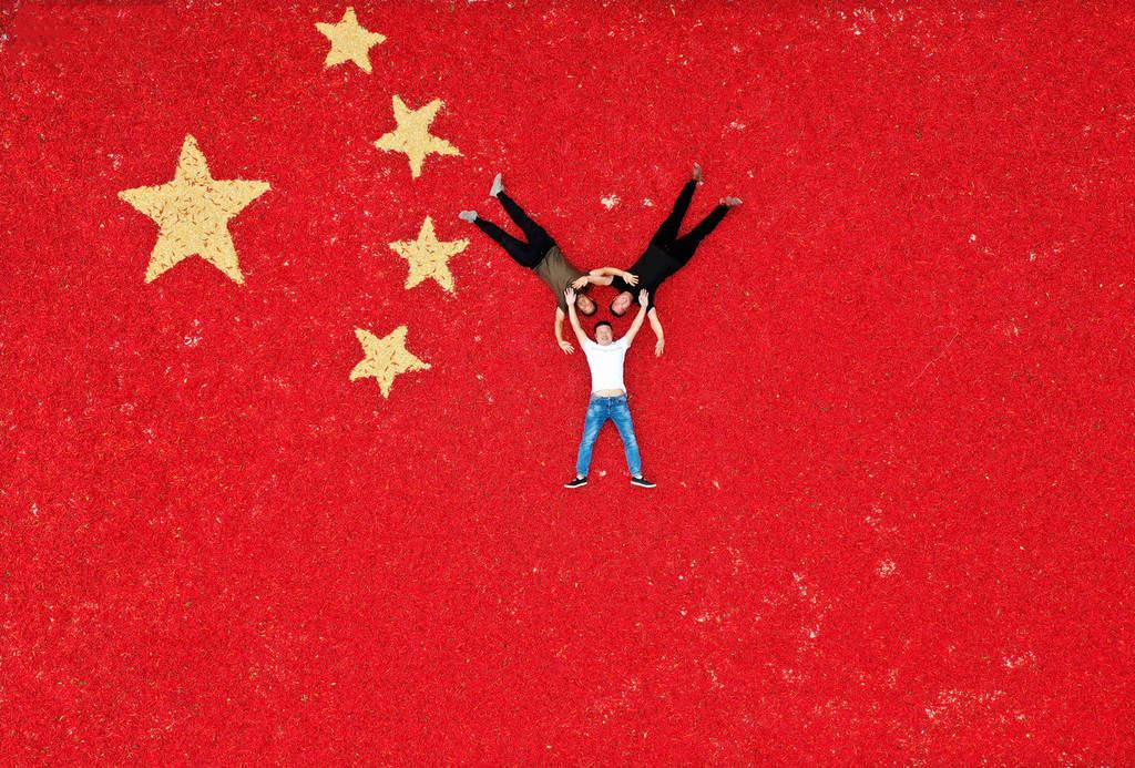 Harvest paints China in splendid colors