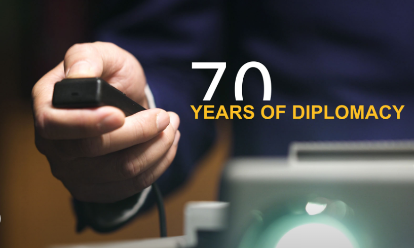 70 years of diplomacy: The War to Resist U.S. Aggression and Aid Korea