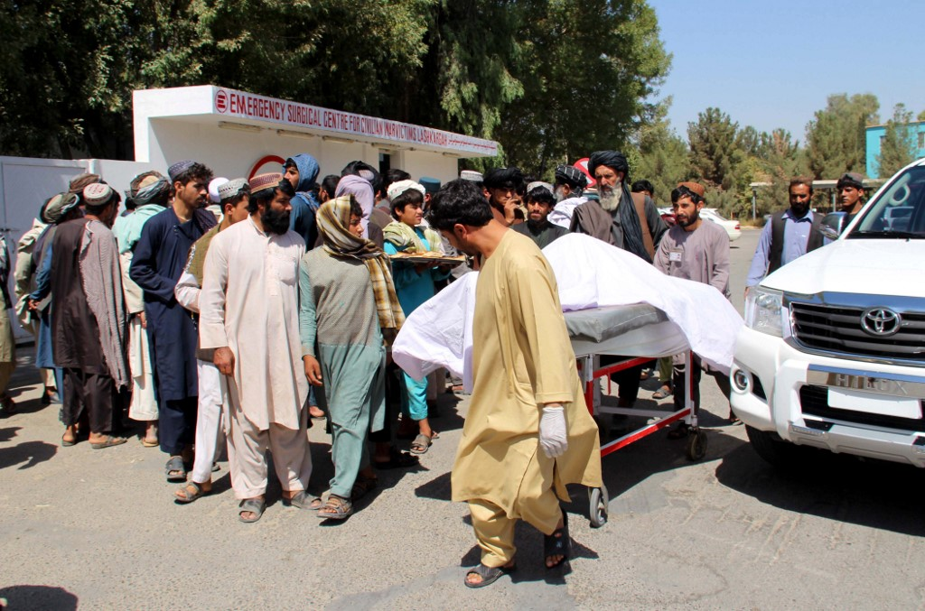 Afghan officials investigate reports 40 civilians killed in airstrike