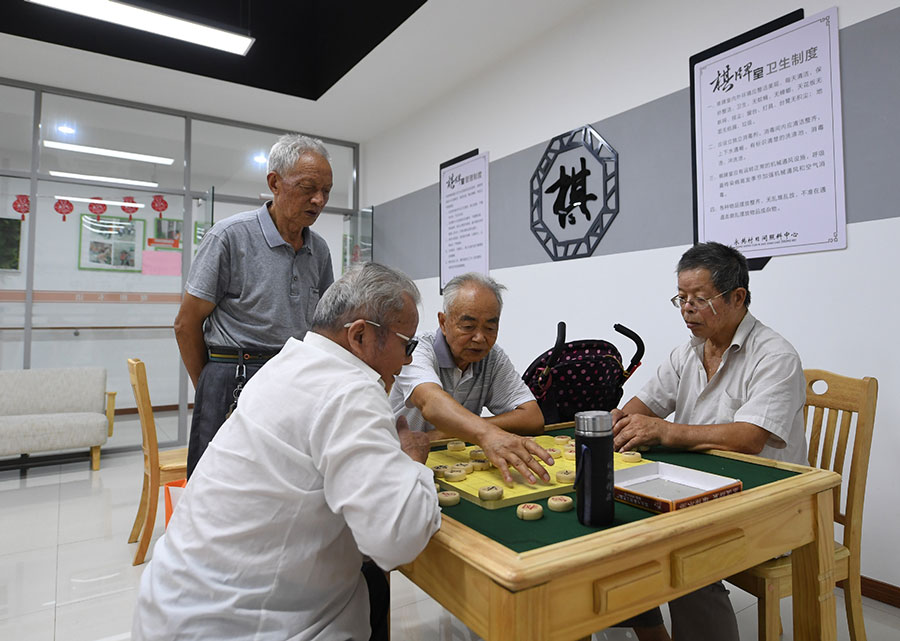 China aims to equip all communities with elderly-care facilities