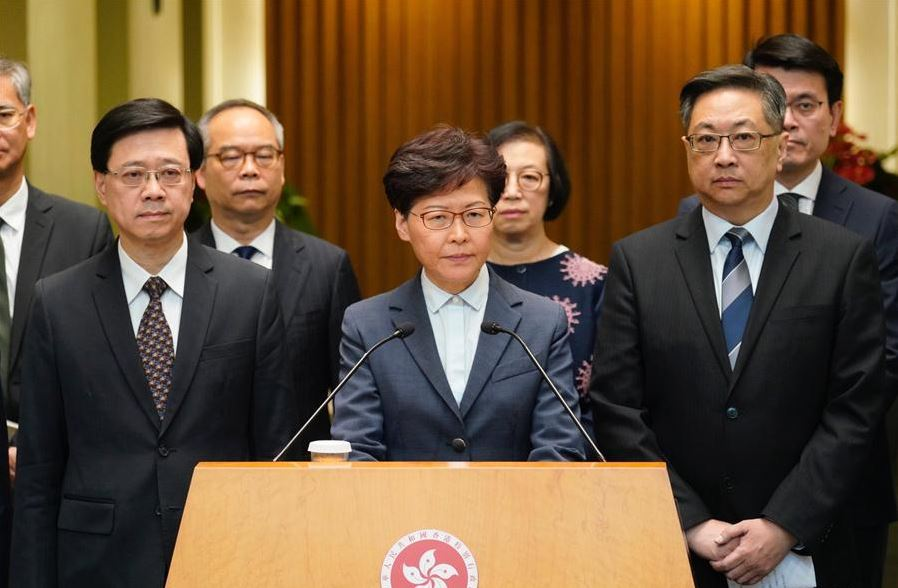 Dialogue platform officially launched: HKSAR chief executive
