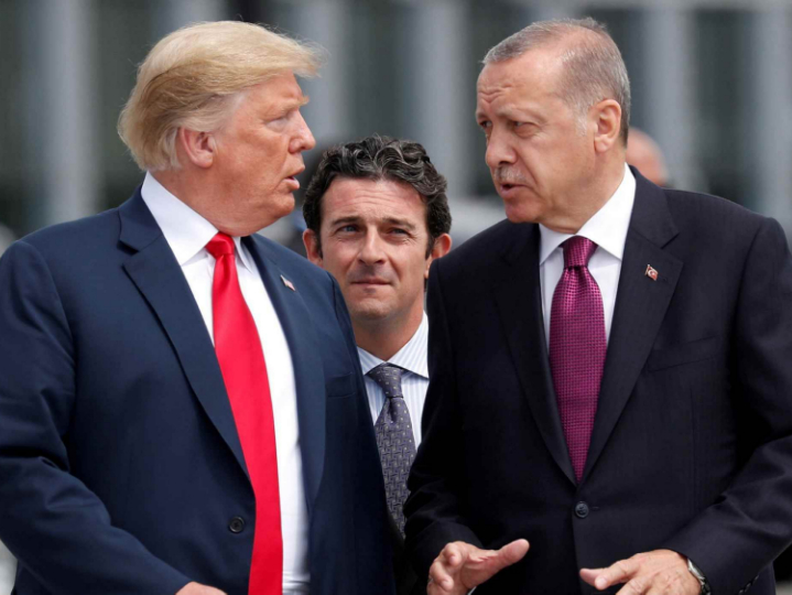 Turkish, US presidents hold talks on Syria, bilateral issues over phone