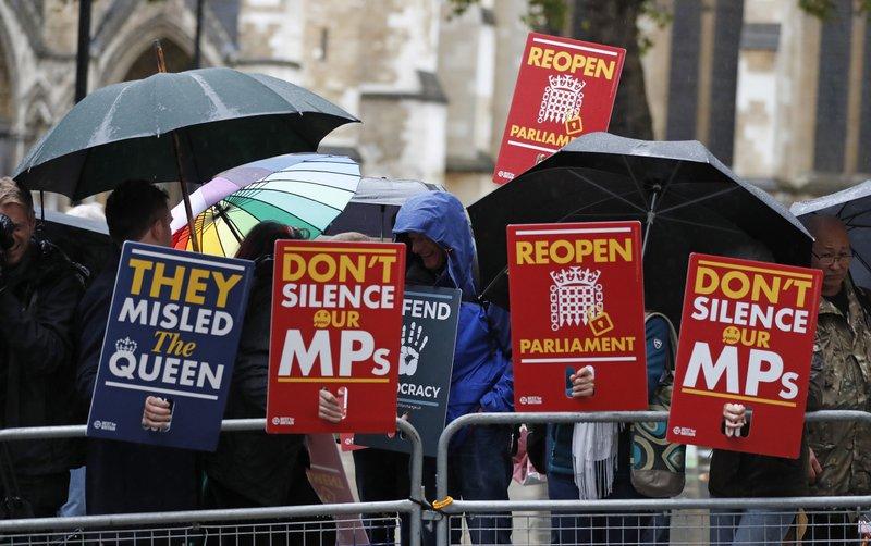 Historic decision on Johnson's Parliament shutdown due in UK