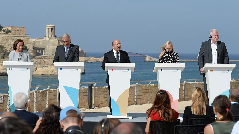 EU countries agree on migrant disembarkation and relocation system