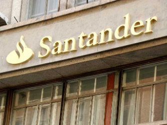 Santander to book 1.5 bln euro impairment charge on UK unit